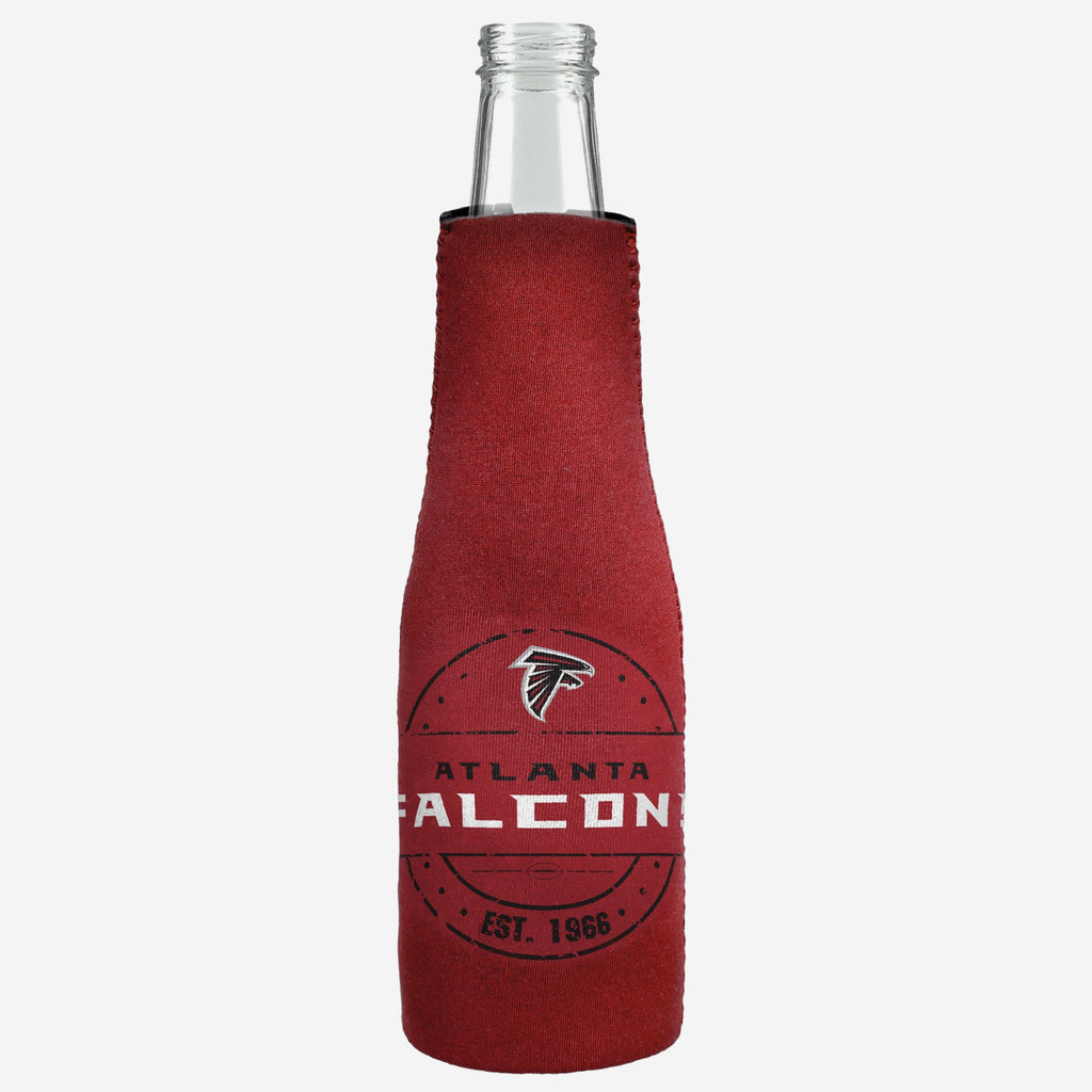 Atlanta Falcons Insulated Zippered Bottle Holder