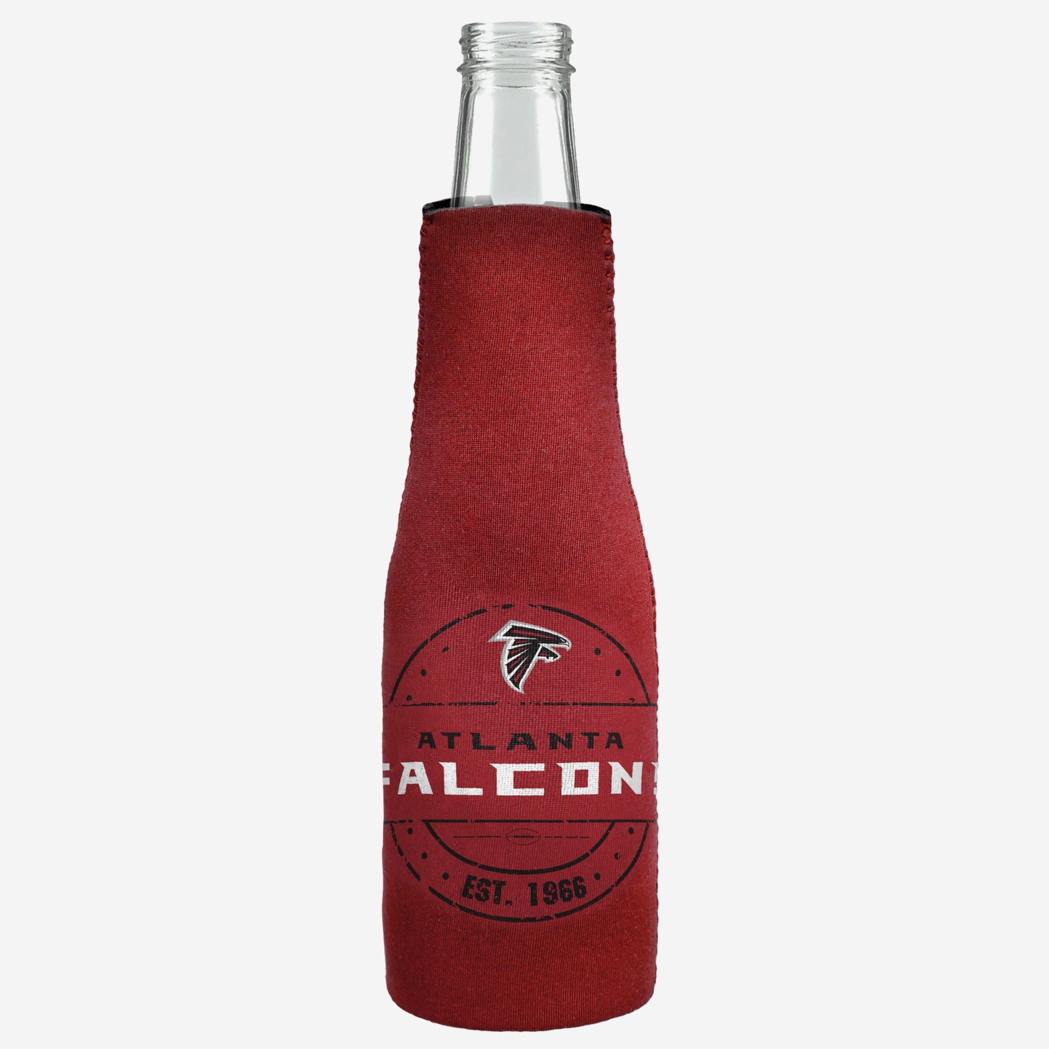 Atlanta Falcons Insulated Zippered Bottle Holder FOCO - FOCO.com