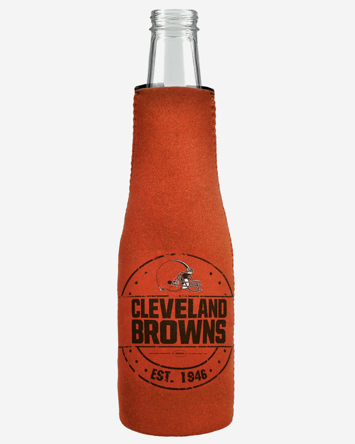 Cleveland Browns Insulated Zippered Bottle Holder FOCO - FOCO.com