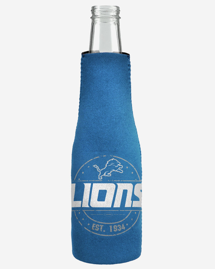 Detroit Lions Insulated Zippered Bottle Holder FOCO - FOCO.com