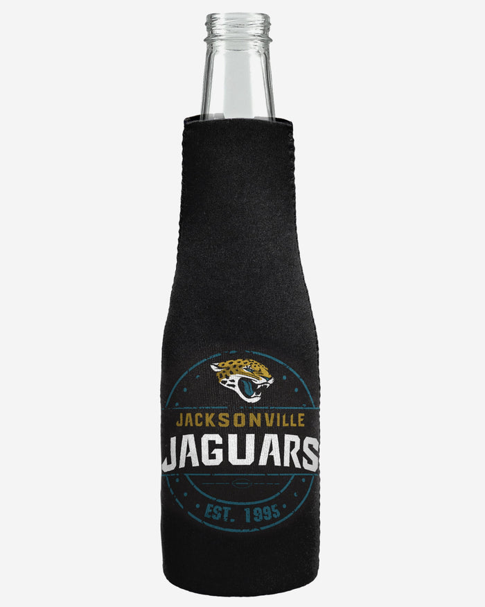 Jacksonville Jaguars Insulated Zippered Bottle Holder FOCO - FOCO.com