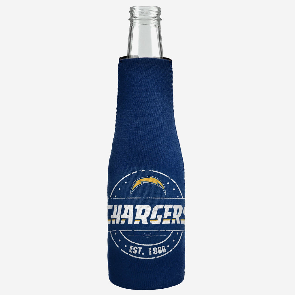 Los Angeles Chargers Insulated Zippered Bottle Holder FOCO - FOCO.com