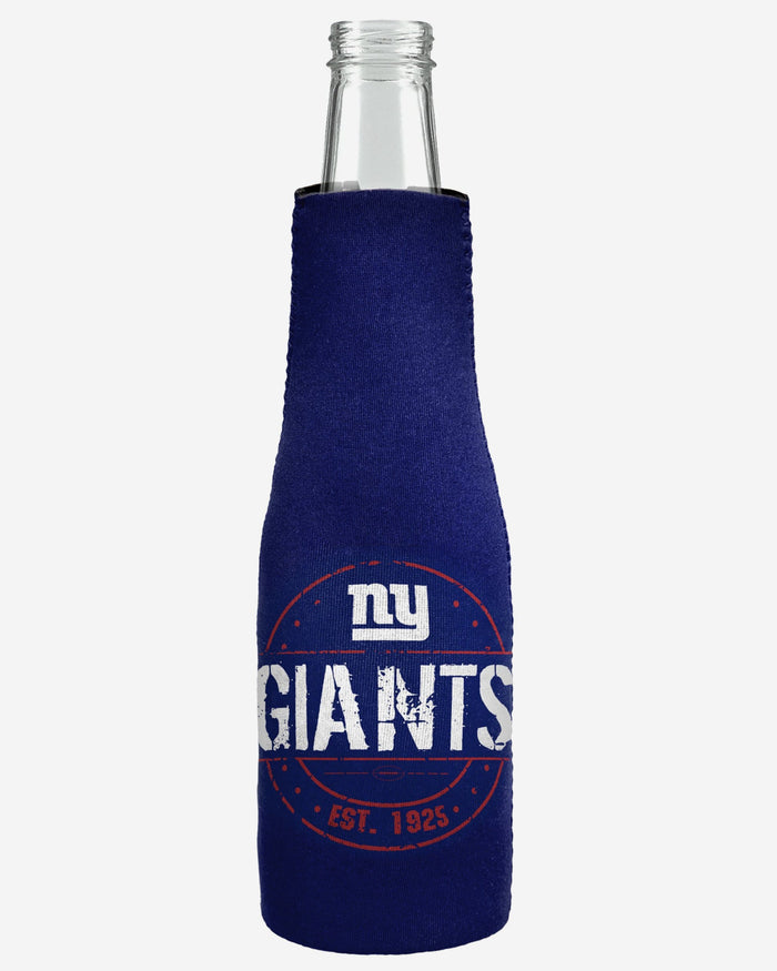 New York Giants Insulated Zippered Bottle Holder FOCO - FOCO.com