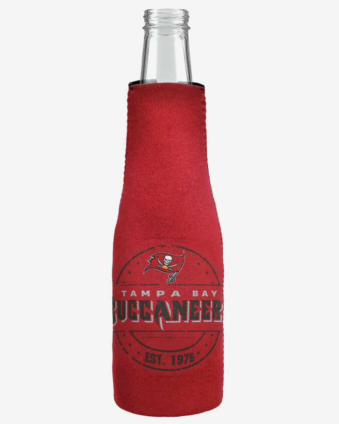 Tampa Bay Buccaneers Insulated Zippered Bottle Holder FOCO - FOCO.com