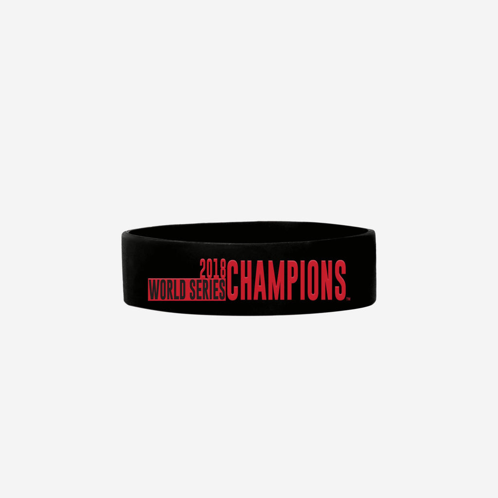 Boston Red Sox 2018 World Series Champions Bulk Bandz FOCO - FOCO.com
