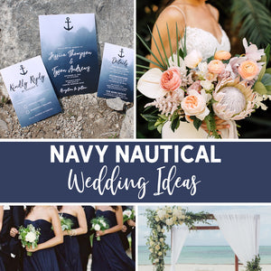 Navy Nautical Wedding Ideas for the Perfect Summer Wedding