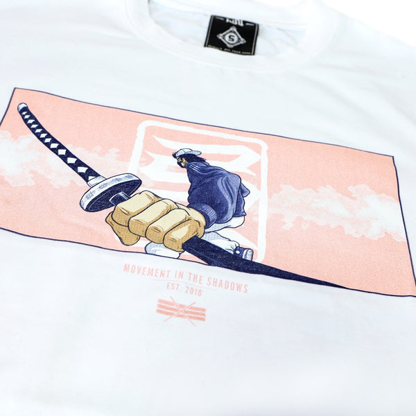 Kinjaz Ninja Tee in White