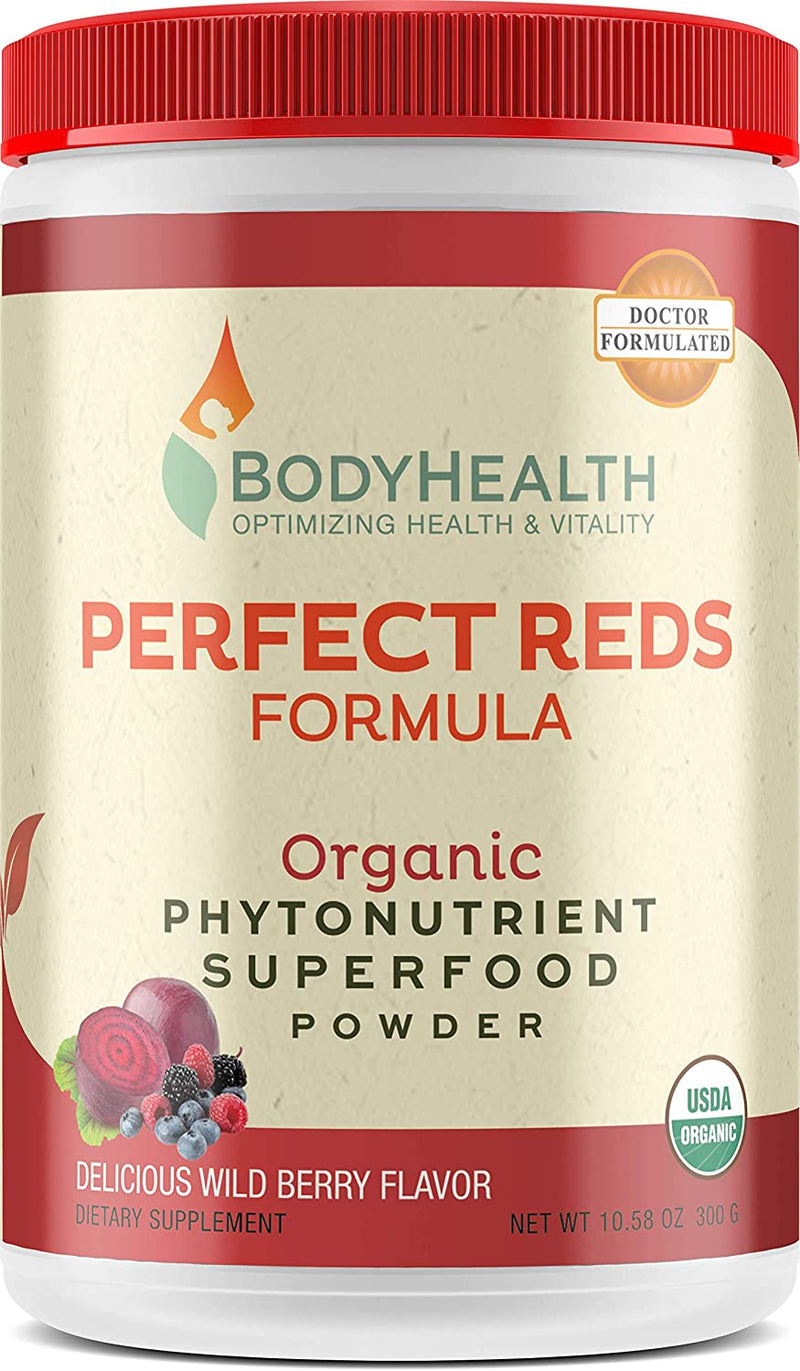 Perfect Reds Formula - 30 Servings, Combination of Phytonutrients, Superfoods and Enzymes