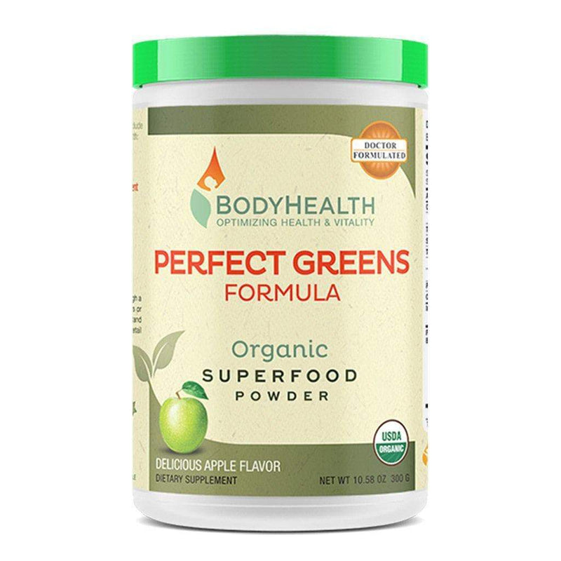 Perfect Greens Formula - 30 Servings, 100% Organic Superfood, 23 Whole Foods