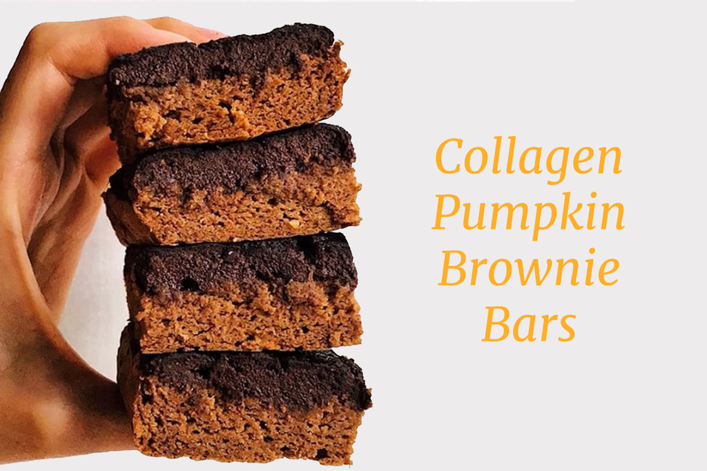 Recipe: Collagen Pumpkin Brownie Bars!