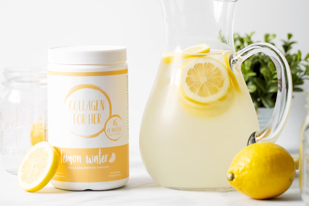 The #1 Collagen Lemon Water Life Hack!