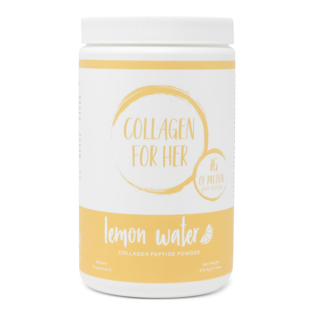 Collagen Lemon Water