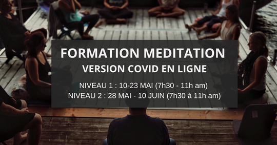 FORMATION PROFESSORAL DE MEDITATION