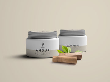 AMOUR, fragrance de bois de santal
