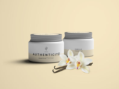 AUTHENTICITÉ, fragrance de vanille unique