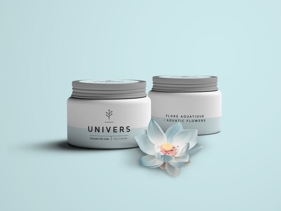 UNIVERS, fragrance de flore aquatique sucré
