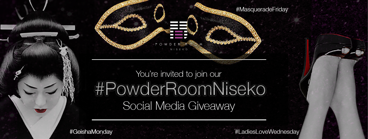 Powder Room social media giveaway