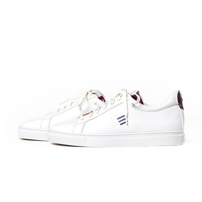 Powder Room X Andrew Kayla Crt Lo Leather Sneakers - Shoes