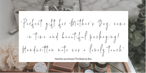 Customer Review. Perfect gift for Mother's Day, came in time and beautiful packaging. Handwritten note was a lovely touch.