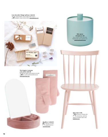 The Simple Things Magazine April 2019 Issue Wishlist Feature - Featuring Live the Little Things Box