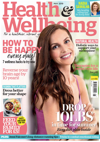 Health & Wellbeing Magazine May 2019 Cover