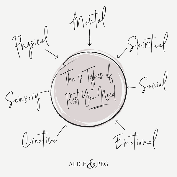 The seven types of rest you need: physical, mental, spiritual, creative, social, sensory and emotional