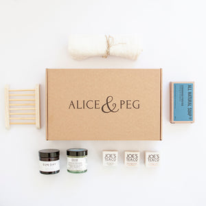 Pamper Gift Box - Glow Box - Ecofriendly Pamper Gift UK