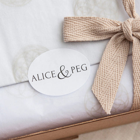 Alice & Peg Little Bathtime Rituals Three Month Letterbox Subscription - Each box is beautifully wrapped in our custom gift wrapping