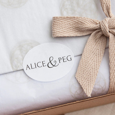 Alice & Peg Pamper Gift Box - Detox Pamper Self Care Gift Set - Ethical Pamper Gift UK - Each gift comes beautifully wrapped in our custom packaging