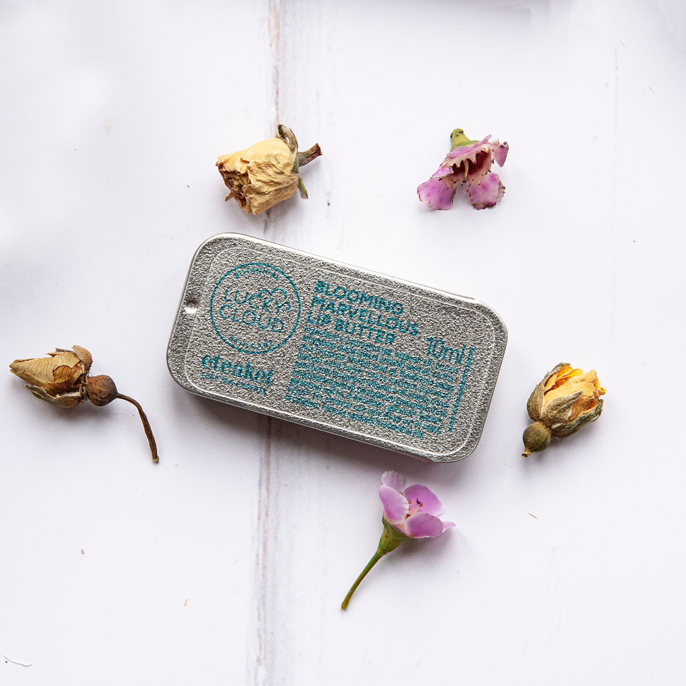 Blooming Marvellous Vegan Lip Butter by Lucky Cloud Skincare