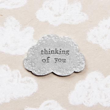 """Thinking of You"" Pocket Token by Kutuu"