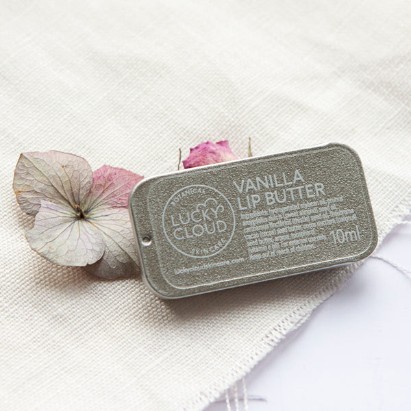 Vanilla Vegan Lip Butter by Lucky Cloud Skincare