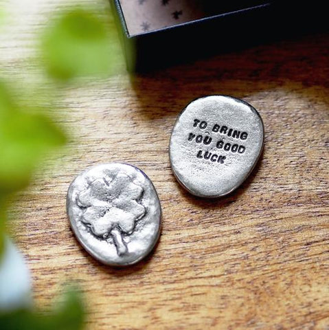 """To Bring You Good Luck"" Pocket Token by Kutuu"
