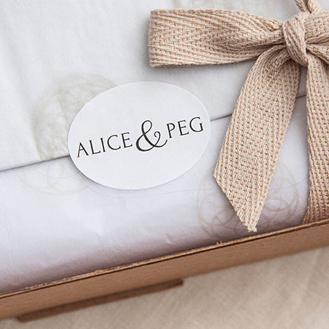 Alice & Peg Slumber Box - British Ethical Gift Set - Luxury Sleep Mask Gift Set beautifully hand wrapped in our custom made gift packaging