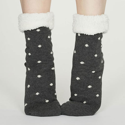 Alice & Peg Limited Edition Slow Living Gift Set featuring Snuggly Cosy Elizabeth Socks by Thought