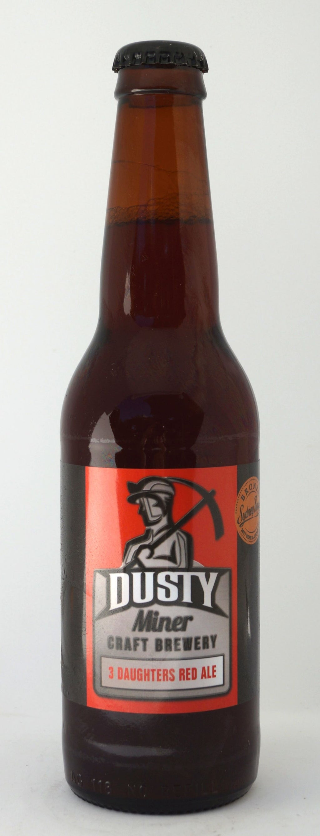 Dusty Miner 3 Daughters Red Ale