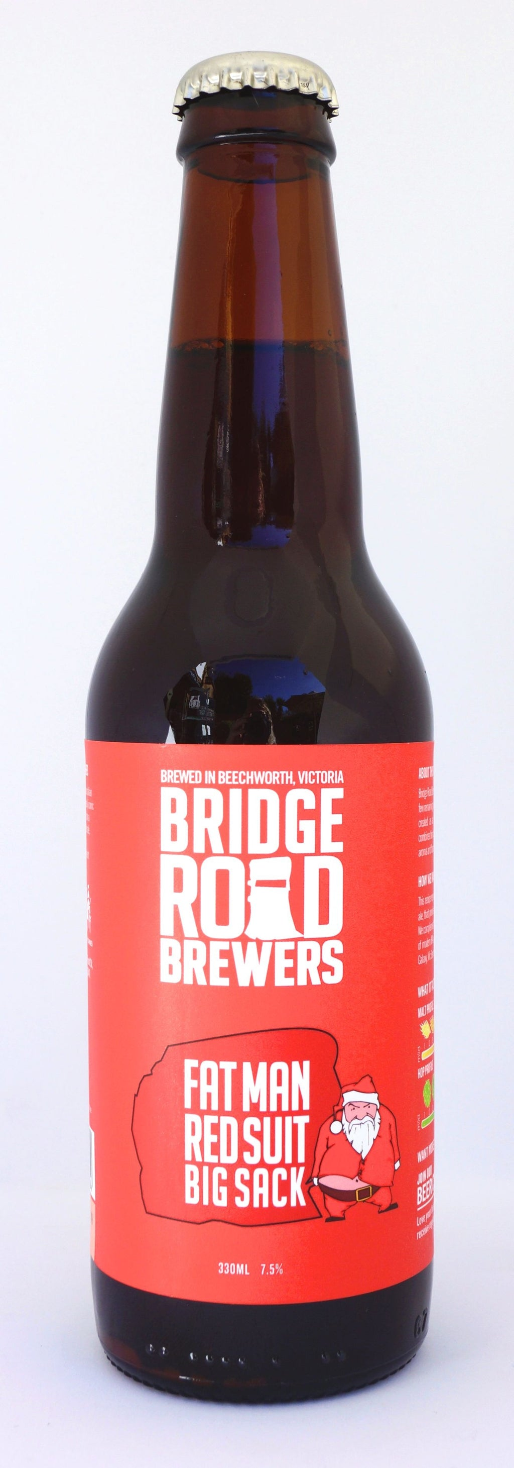 Bridge Road Fat Man Red Suit Big Sack Red IPA