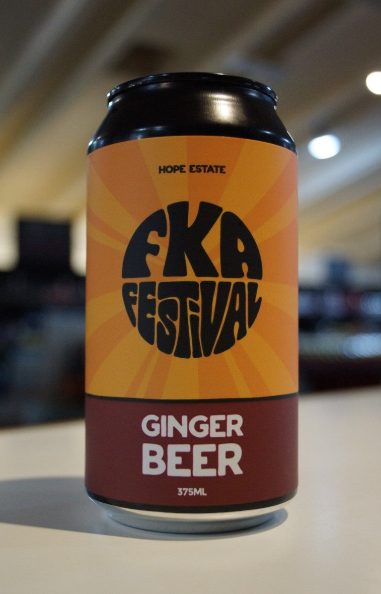 Hope FKA Ginger Beer (Alcoholic)