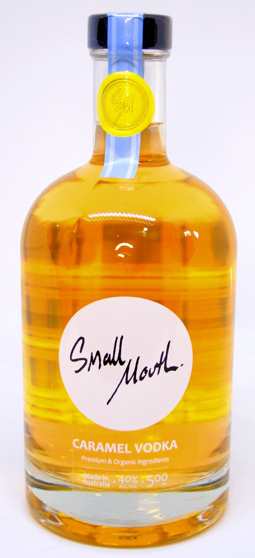 Small Mouth Caramel Vodka