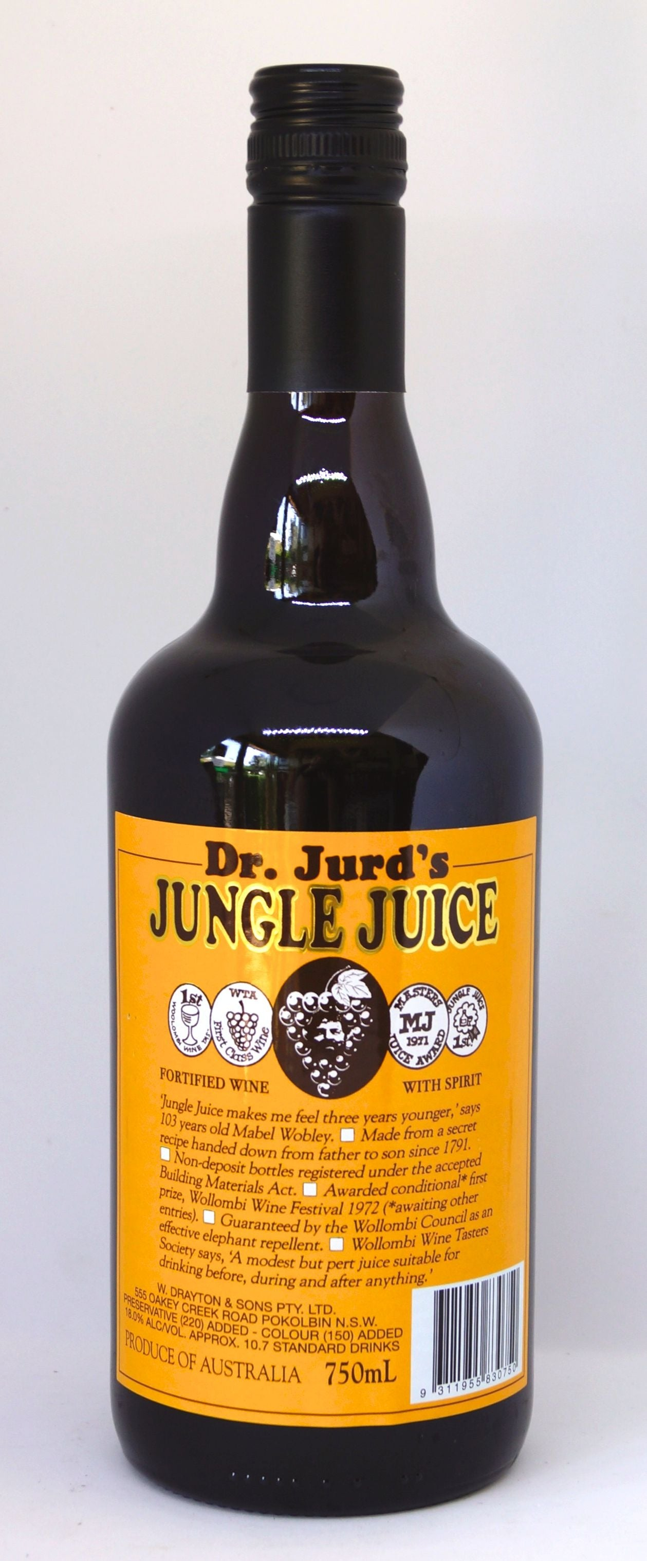 Dr Jurd's Jungle Juice