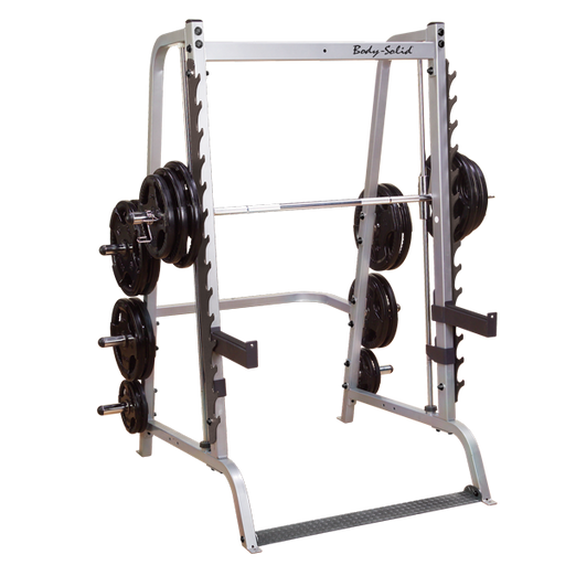 Body-Solid Deluxe Linear Bearing Smith Machine
