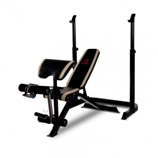 Marcy ULTIMATE Olympic Strength Bench Press with Squat Feature