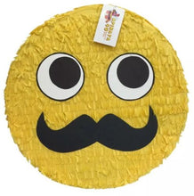 "Load image into Gallery viewer, APINATA4U Emoticon Pinata 16""  Emoticon Party Favors, Mustache  Emoticon"