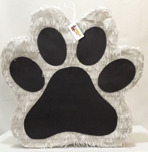 Puppy Paw Pinata Dog Party Pinata Dog Party Favors, Great for a Paw Patrol Party