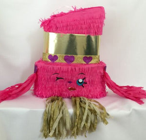 Pink Lipstick Pinata, Can be used for Shopkins theme party!
