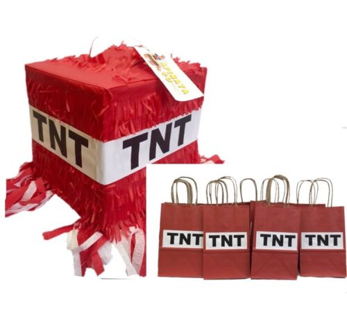 TNT Pinata & 35 PK Party Favor Bags