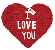 Load image into Gallery viewer, APINATA4U I LOVE YOU Heart Pinata Valentine's Day Party Favor