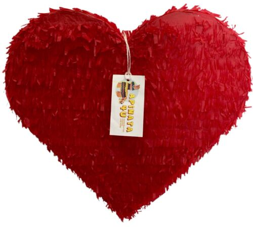 Wedding Heart Pinata Red Color