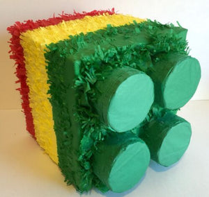 APINATA4U Building Block Pinata Green Top