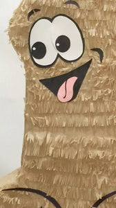 "Ready to Ship Pecker Pinata 24"" Tall Tan Color Bachelor Bachelorette Party Favors Gag Gifts"